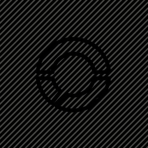 analytics, business, chart, donut, marketing, pie, report icon