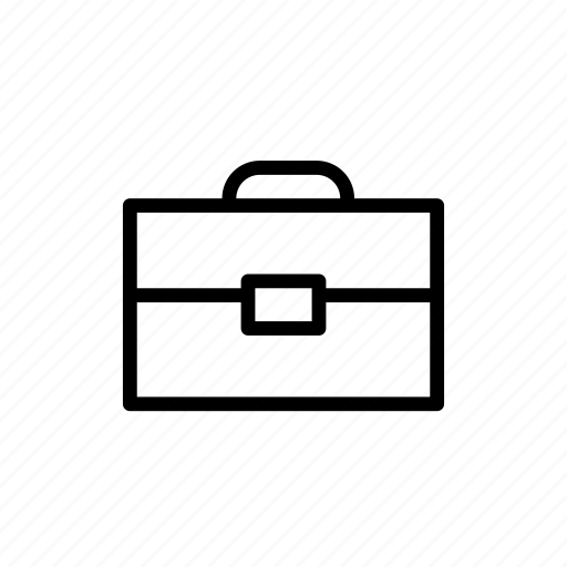 briefcase, business, job, tool, work icon