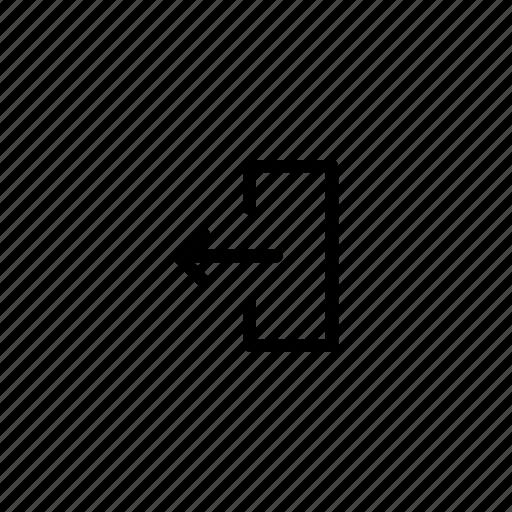 export, send, upload icon