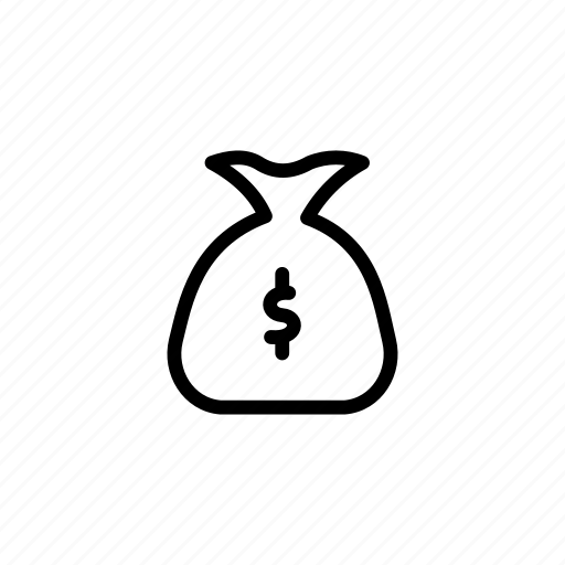 bag, finance, money, money bag, moneybag icon