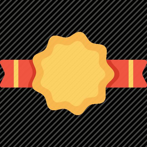 award, badge, label, milestone, office, ribbon icon