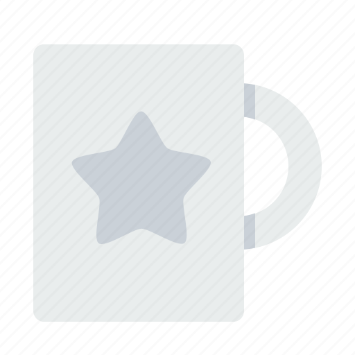 award, coffee, employee, mug, office, prize, star icon