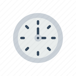 clock, company, office, round, time, timer, wall icon