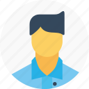 avatar, businessman, employee, man, office, person, user icon