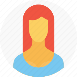 avatar, businesswoman, employee, office, person, user, woman icon
