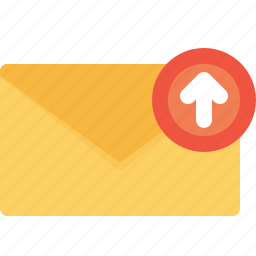email, envelope, letter, mail, message, office, send icon