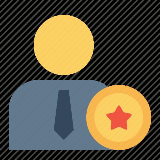 award, badge, best, employee, office, reward, star icon