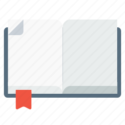 book, diary, employee, notebook, notepad, office, writing icon
