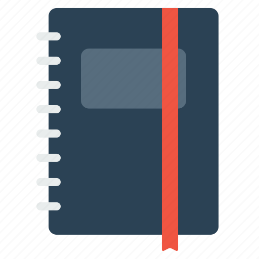 book, diary, employee, folder, notebook, notepad, office, writing icon