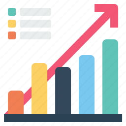 chart, company, corporate, graph, growth, performance, success icon