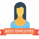avatar, award, best, employee, office, person, user icon