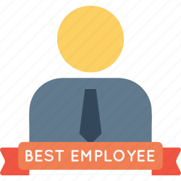 avatar, award, best, employee, man, office, person icon