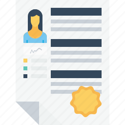 appraisal, badge, business, employee, recruitment, resume, star icon