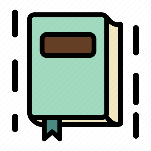 book, bookmark, education, research icon