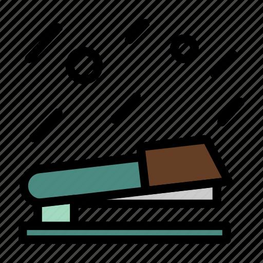 object, office, stapler icon