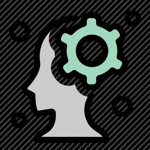 progress, settings, strategy, thinking, working icon