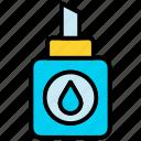 diy, glue, graphic, tool icon