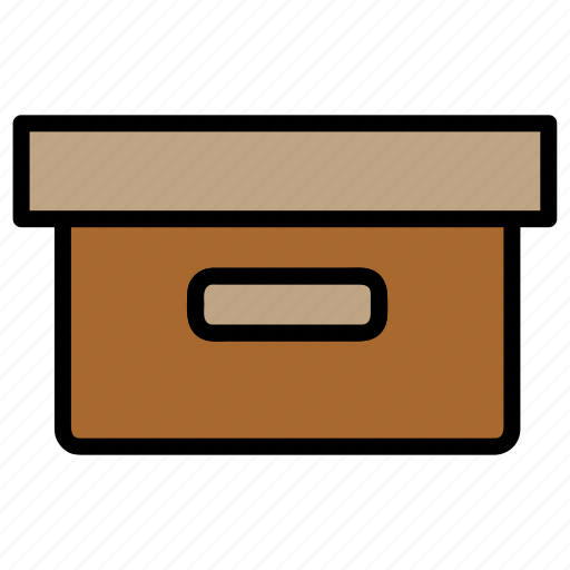 box, delivery, logistic, package, parcel icon