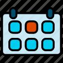 calendar, calender, date, day, schedule icon