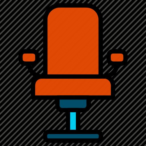 arm chair, chair, interior, office chair, seat icon