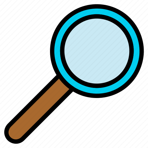 glass, magnifier, magnifying, magnifying glass, search, zoom icon