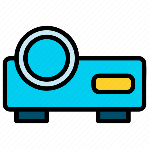 conference, meeting, projection, projector icon