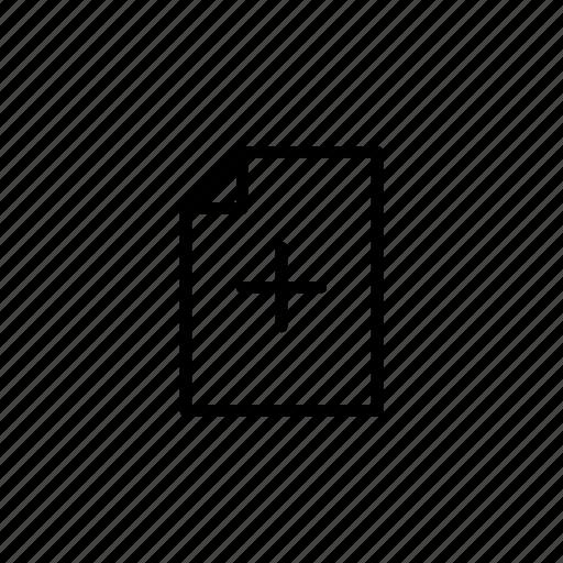 add, bookmark, files, plus icon