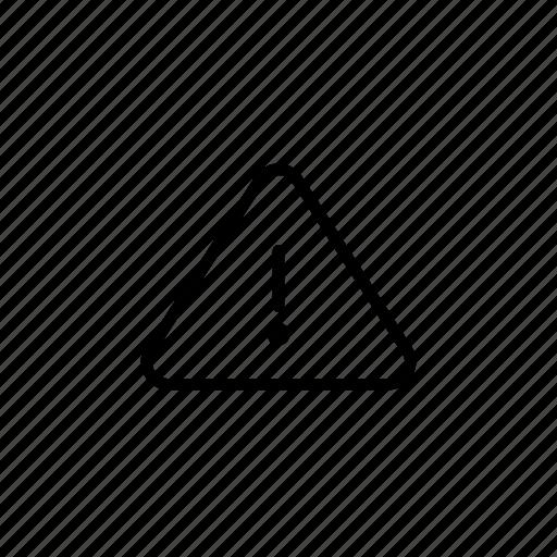 alert, attention, careful, danger icon