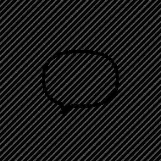 bubbles, chat, communication, message icon