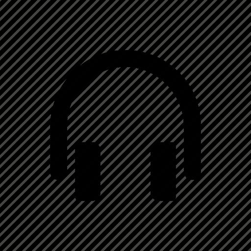 headphone, headset, music, sound icon
