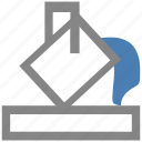 application, office, shading icon