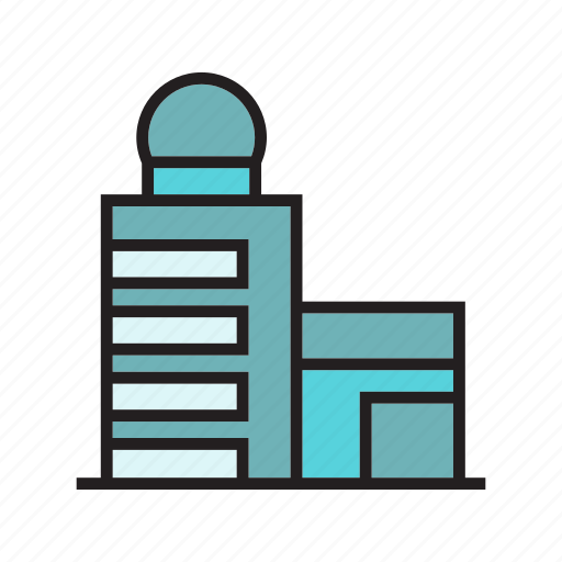 apartment, building, construction, office, real estate, residence, tower icon