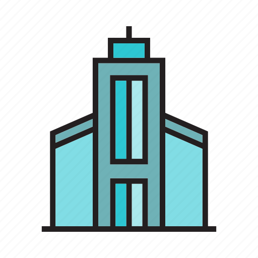 apartment, building, city, home, house, real estate, residence icon