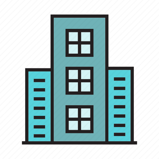 apartment, city, construction, downtown, edifice, residence, tower icon