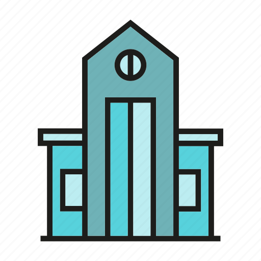 apartment, building, home, hostel, house, real estate, residence icon