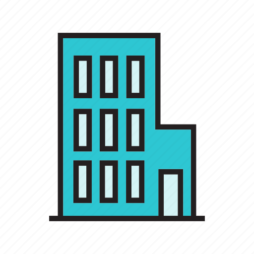 apartment, city, construction, hostel, real estate, residence, tower icon