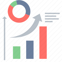 analysis, analytics, business, chart, graph, growth, increase sales icon