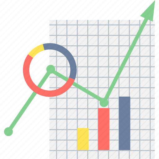 analysis, business, data, graph, growth, progress, report icon