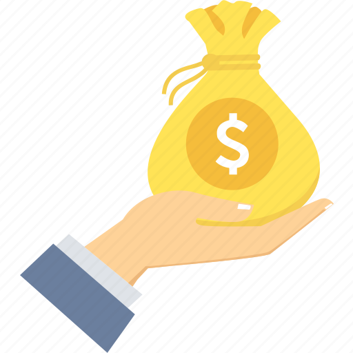 bag, business, cash, finance, investment, money, payment icon
