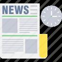 news, article, blog, media, newsletter, newspaper, time