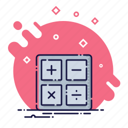 business, calculations, calculator, finance, financial, office icon