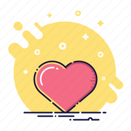 business, day, heart, like, love, office, valentine icon