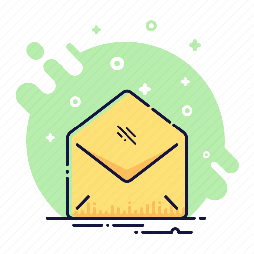 email, envelope, mail, message, office, open, post icon