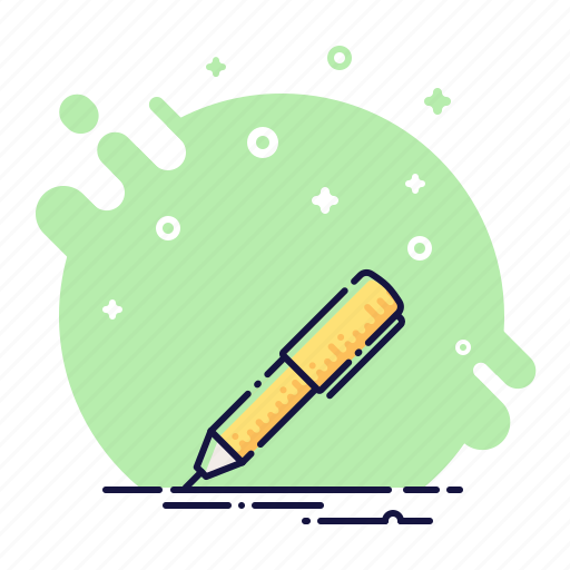 ball pen, business, office, pen, write, write down icon