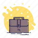 bag, brief-bag, briefcase, business, office, portfolio icon