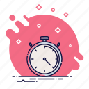 business, office, stopwatch icon