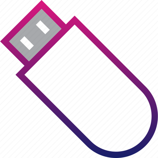 business, flasdisk, minimalist, office, professional, usb icon
