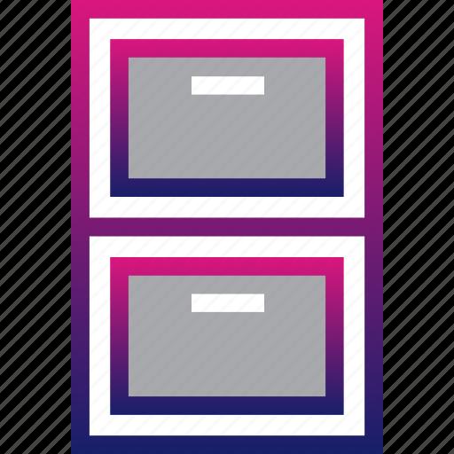 business, cabinets, locker, minimalist, office, professional icon
