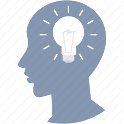 brain, business, creative, design, idea, mind, think icon