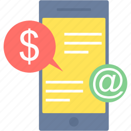 business, marketing, mobile, phone, seo, smartphone, transaction icon